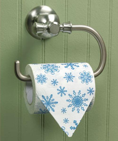adornos para decorar el cuarto de bano papel hiegienico Accesorios para Decorar el Cuarto de Baño en Navidad
