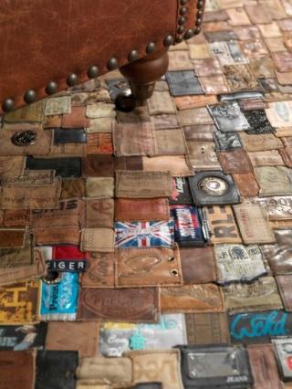 Alfombras Hechas con Material Reciclado de Jeans