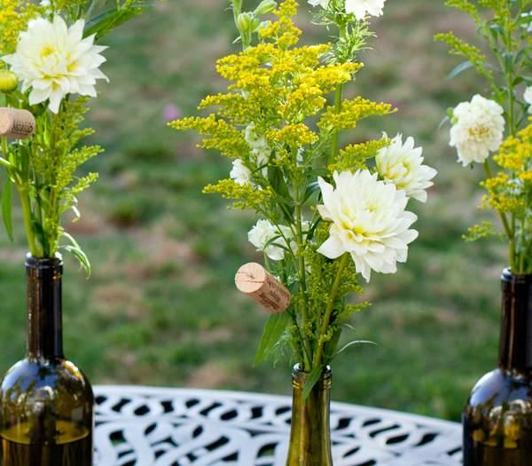 arreglos florales hechos con botellas recicladas Arreglos Florales con Botellas Recicladas