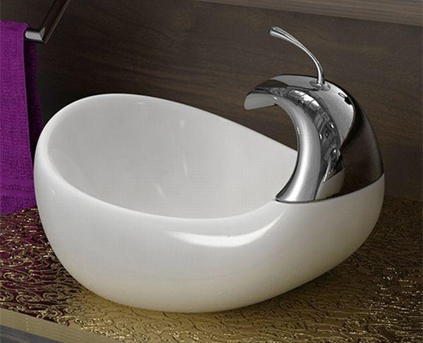 banos estilo lavabos lujo esculturales 1 Baños con Estilo, Lavabos de Lujo Esculturales