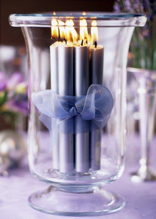 centros mesa velas san valentin Centros de Mesa y Arreglos con Velas para San Valentín