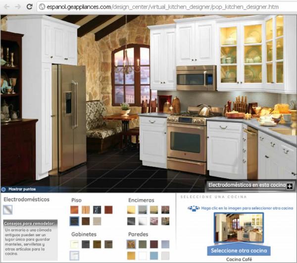 cocina cafe 600x531 Simulador de Cocinas Pequeñas y No Tanto