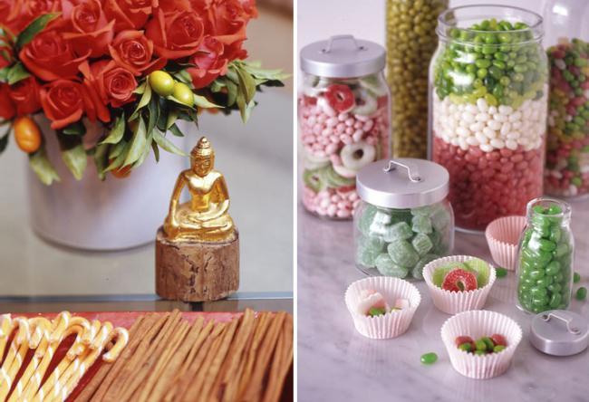 colores y dulces para decorar