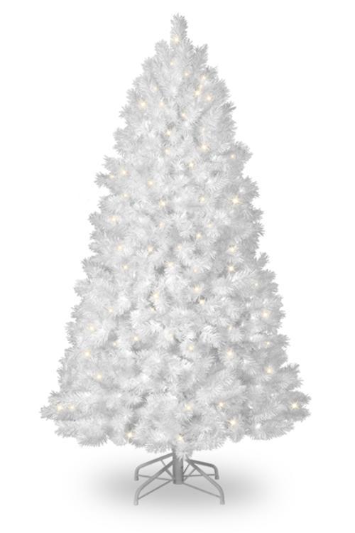 coloridos arboles de navidad blanco Coloridos Árboles de Navidad