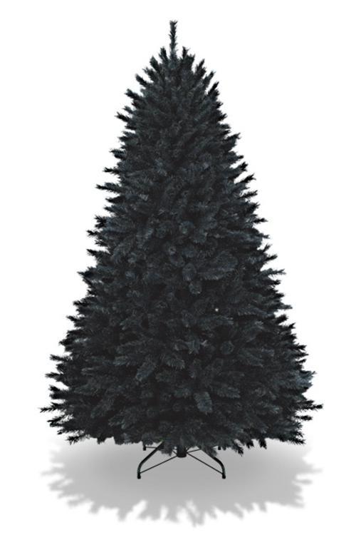coloridos arboles de navidad negro Coloridos Árboles de Navidad