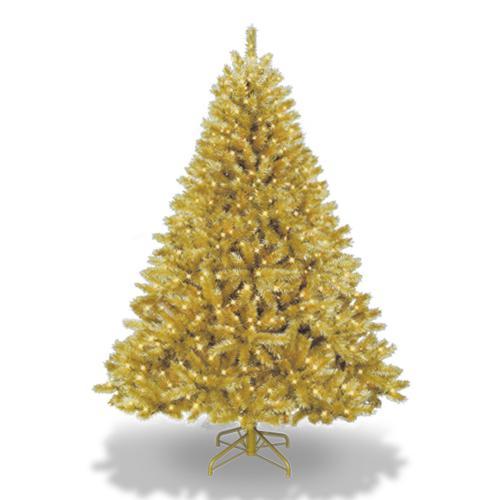 coloridos arboles de navidad oro Coloridos Árboles de Navidad