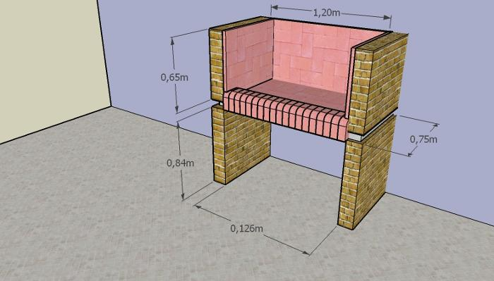 como construir parrilla 12 Cómo Construir una Parrilla   Parte II