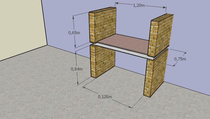 como construir parrilla 7 Cómo Construir una Parrilla   Parte II