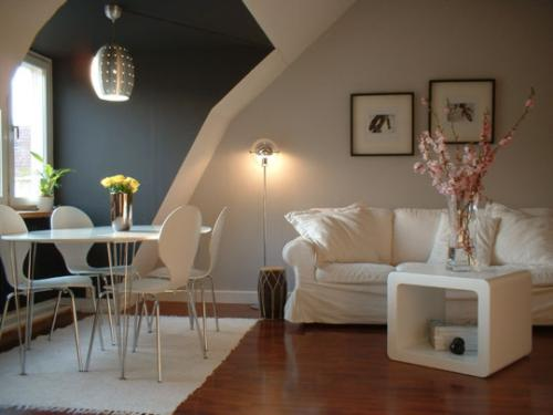como decorar casas pisos pequenos tonos colores Cómo Decorar Casas o Pisos Pequeños