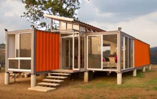 Arquitectura Sostenible: Contenedores Reconvertidos en Viviendas