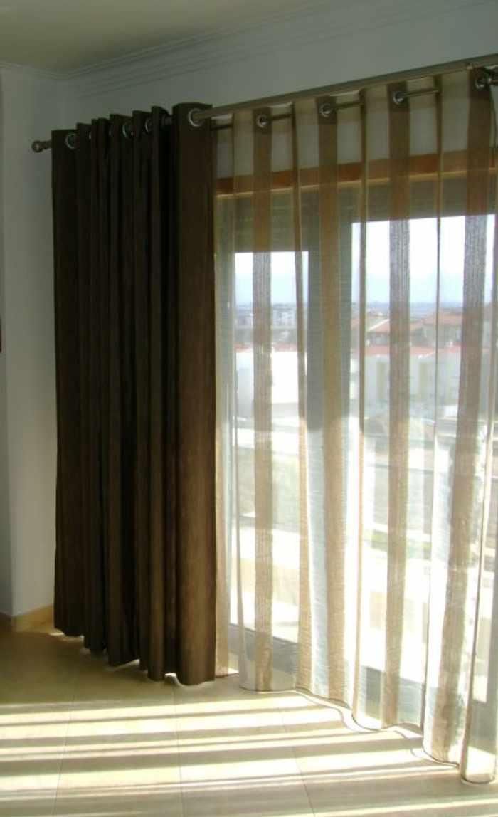 cortina visillo Vestir una Ventana: Tipos de Cortinas