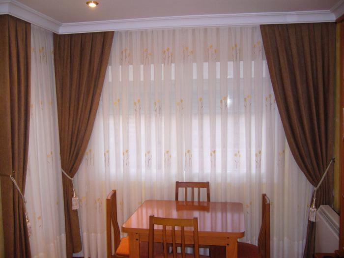 cortinas caidas Vestir una Ventana: Tipos de Cortinas