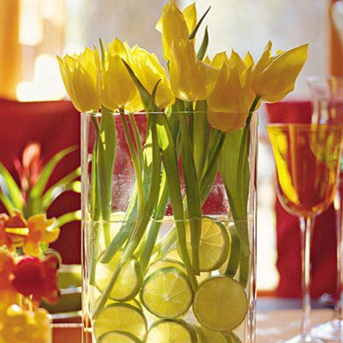 decoracion arreglos florales centros mesa 3 Decoración con Arreglos Florales y Centros de Mesa