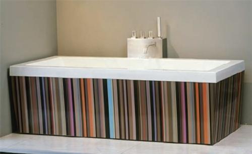 decoracion banos creativas baneras aquamass 1 Decoración de Baños: Bañeras Creativas de Aquamass