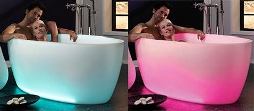 decoracion banos creativas baneras aquamass 2 Decoración de Baños: Bañeras Creativas de Aquamass