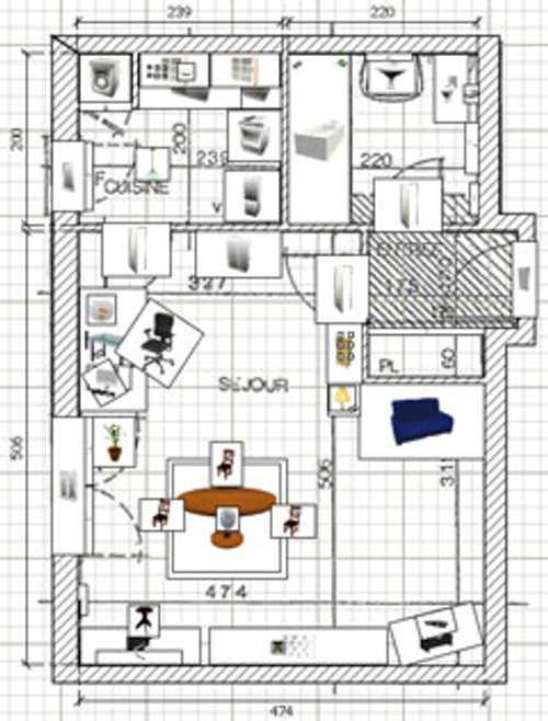 decoracion casa programa sweet home 3d plano Decoración de Casas con el Programa Sweet Home 3D