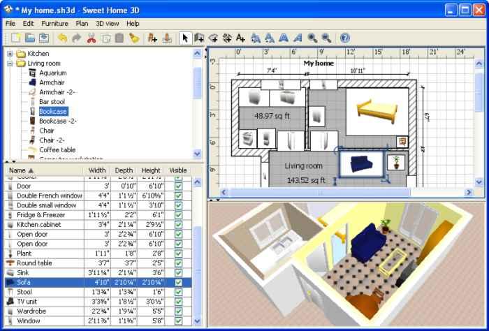 decoracion casas programa sweet home 3d Decoración de Casas con el Programa Sweet Home 3D