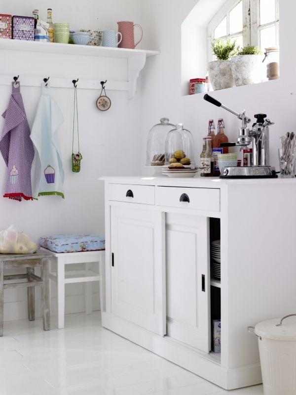 decoracion cocinas pequenas color blanco 2 Decoración de Cocinas Pequeñas: Color Blanco