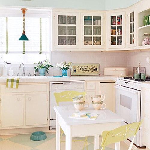 decoracion cocinas pequenas color blanco 5 Decoración de Cocinas Pequeñas: Color Blanco