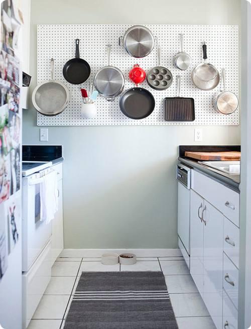 decoracion cocinas pequenas color blanco 6 Decoración de Cocinas Pequeñas: Color Blanco