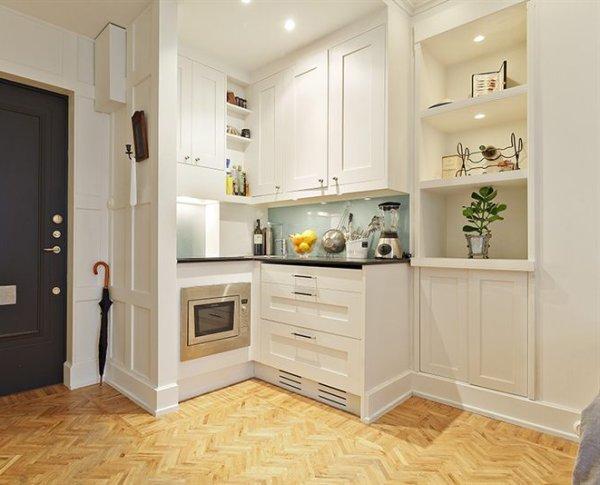 decoracion cocinas pequenas muebles equipamiento Trucos de Decoración de Cocinas Pequeñas