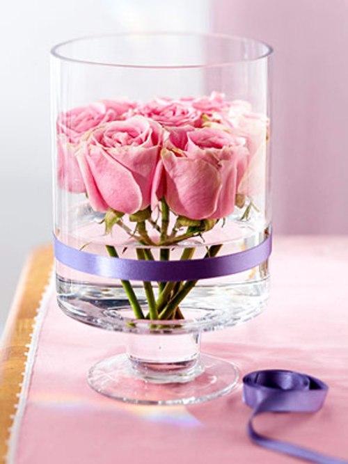 decoracion san valentin centros mesa arreglos florales 5 Decoración San Valentín: Centros de Mesa y Arreglos Florales