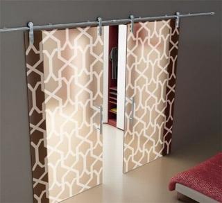 decorativas puertas correderas cristal 10 320x293 Decorativas Puertas Correderas de Cristal
