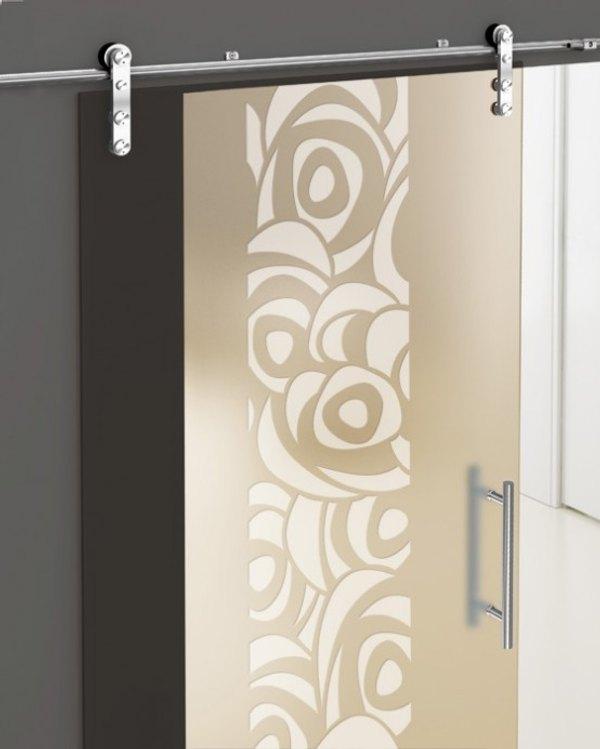 decorativas puertas correderas cristal 8 Decorativas Puertas Correderas de Cristal