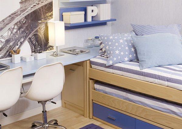 dormitorios juveniles muebles modernos color estilo 6 Dormitorios Juveniles, Muebles Modernos con Color y Estilo