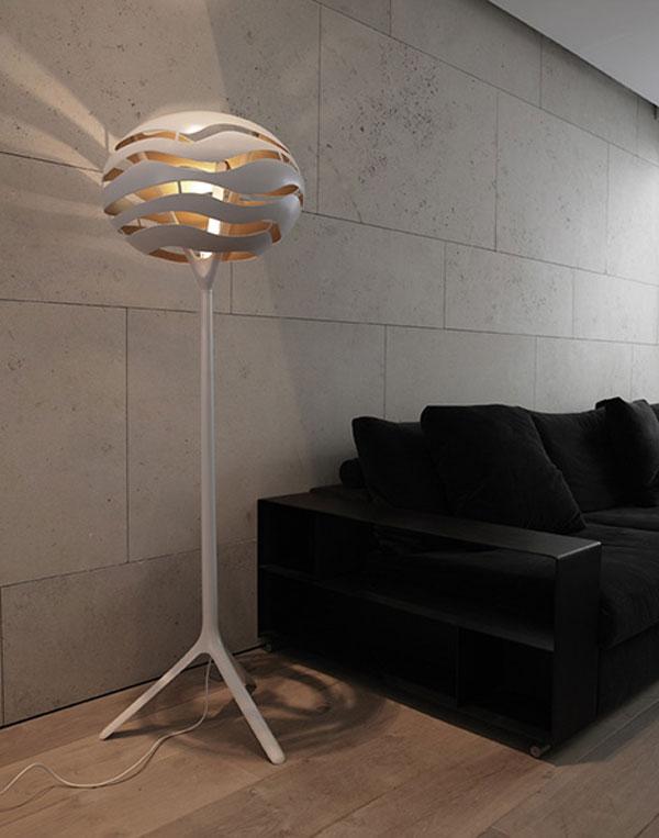 efecto iluminacion lampara pie tree 4 Efectos de Iluminación con la Lámpara de Pie Tree