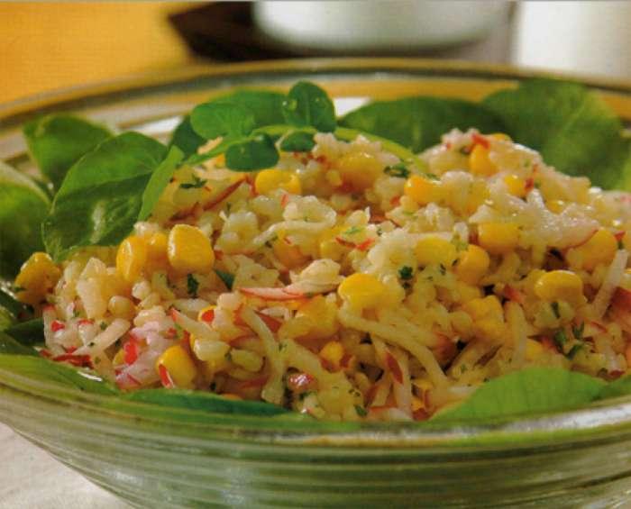 ensalada de arroz integral Rica y fresca Ensalada de Arroz Integral