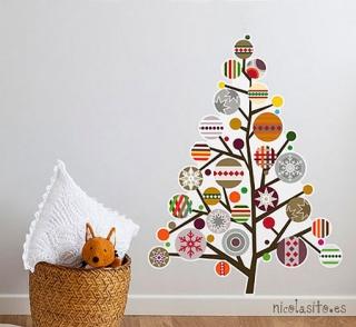 Árboles de Navidad con Vinilos
