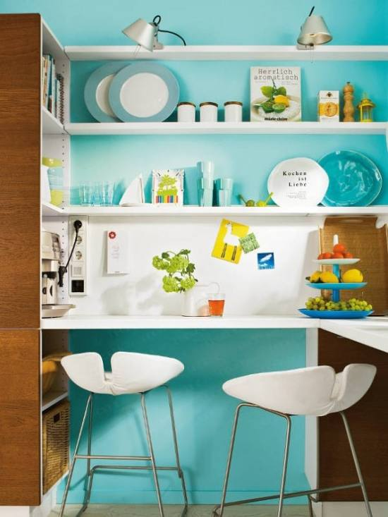 ideas decorar cocinas pequenas Ideas para Decorar Cocinas Pequeñas