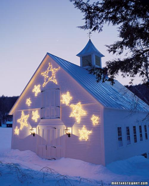 ideas para iluminar la casa en navidad 2 Ideas para Iluminar la Casa en Navidad