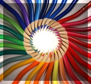 lapices colore 300x276 Los colores y la personalidad