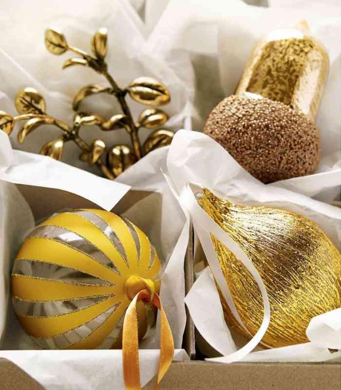 navidad 12 ideas decorar la casa adornos de igual gama de colores Navidad: 12 Ideas para Decorar la Casa
