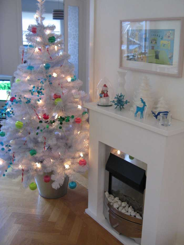 navidad 12 ideas decorar la casa ubicacion arbol de navidad Navidad: 12 Ideas para Decorar la Casa