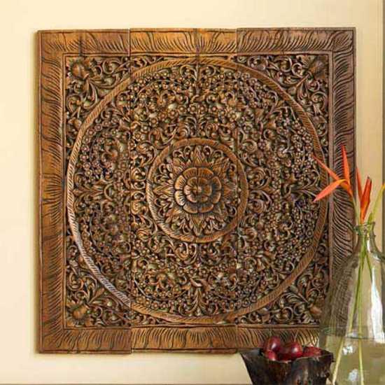 paneles artesanales decoracion paredes 2 Paneles Artesanales para la Decoración de Paredes