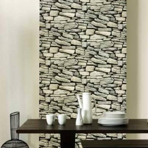papel tapiz imitacion piedras Papel Tapiz Imitación de Piedras