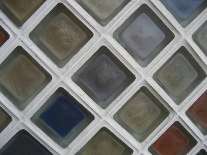 paves distintos colores Aplicaciones del Cristal de Pavés