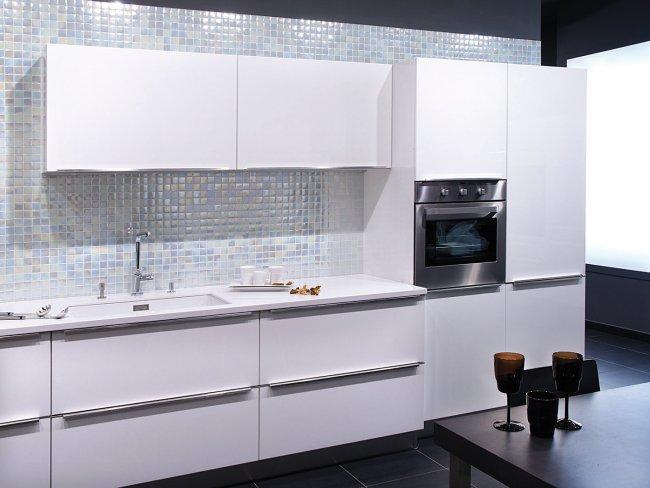 revestimientos cocinas elegantes mosaicos viteos 1 Revestimientos para Cocinas con Elegantes Mosaicos Vítreos