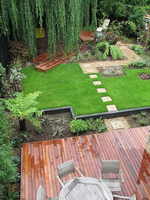 sendero losa jardin 7 Cómo Hacer un Sendero en el Jardín de Casa