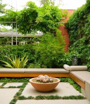sendero losa jardin 9 Cómo Hacer un Sendero en el Jardín de Casa