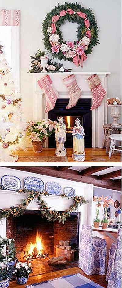 tips decoracion navidad ideas decorar chimeneas 5 Tips Decoración Navidad   Ideas para Decorar Chimeneas