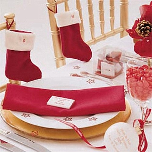 tips decoracion navidad ideas mesa navidena 1 Ideas para la Mesa de Navidad y de Año Nuevo
