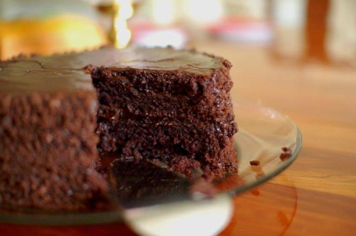 torta chocolate Torta de Chocolate al Microondas