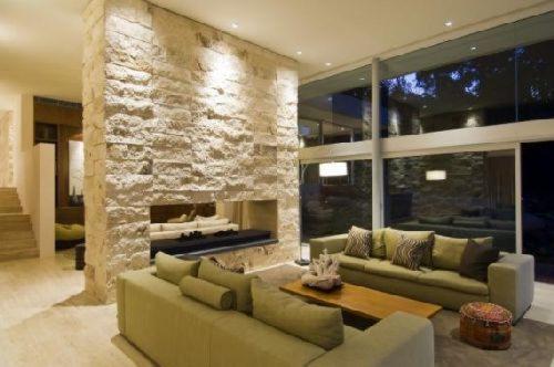 walker house interior Casas de diseño: Casa Walker